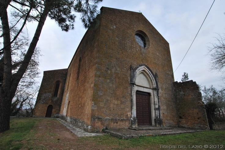 #Proceno (Viterbo), #Lazio - Chiesa di San Martino - Photo M. Pesci (01-2012) - © All rights reserved - Tesori del Lazio