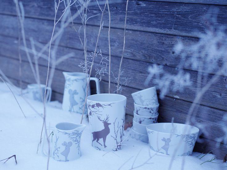 Alv gifts vase snow Photo: Siren Lauvdal Styling: KråkvikD'Orazio