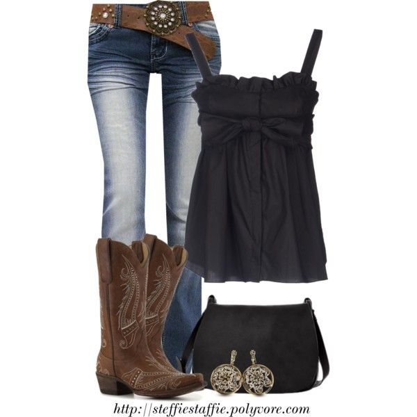 """Country Girl"" by steffiestaffie on Polyvore"