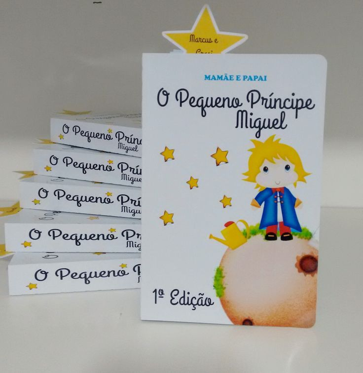 """* Valor sem o nome do convidado impresso, para incluir o nome, adicionar R$1,00 cada.    Convite inspirado no livro """" O pequeno príncipe'.  Mede 17x 12cm.    Confeccionado em papel fotográfico de alta gramatura.    Acompanha marcador de página personalizado."""