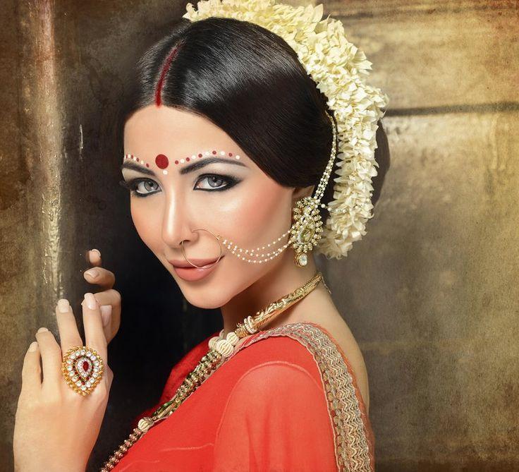 www.amouraffairs.in Indian Bride Lehenga gold border zari zardozi wedding, bridal, bride, lehenga, gorgeous, elaborate, wow, pink, golden details, hairstyle, pretty MU by:Shahnaz Islam