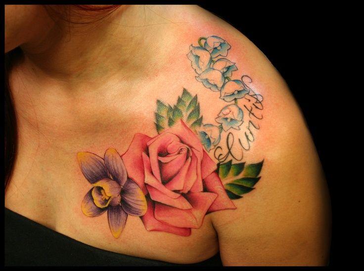 47 Best October Birth Flower Tattoo Amazing Images On Pinterest Birth Flower Tattoos October