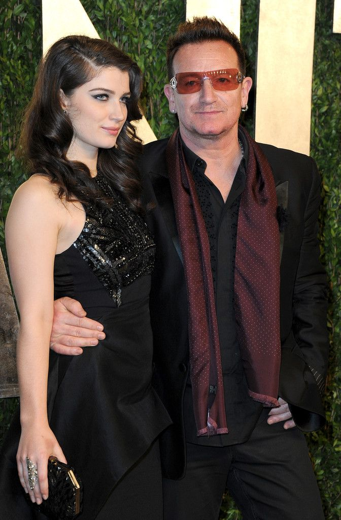 Singer Bono and actress Eve Hewson arrive at the 2013 ...