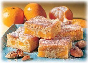 Mandarinen-Blechkuchen - Schneller Mandarinenkuchen vom Blech