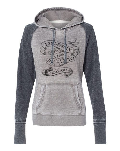 New sweatshirt style, harry potter i solemnly swear that i am up to no good.