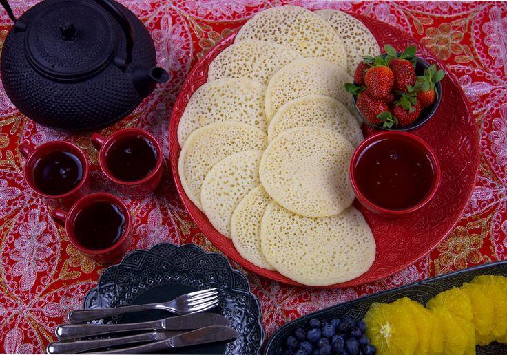 Baghrir- Marockanska pannkakor (veganska)