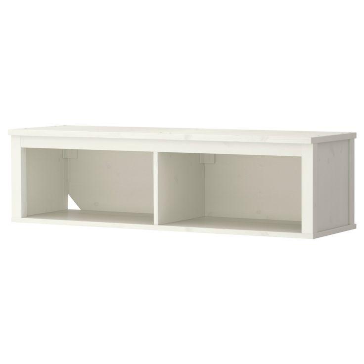 HEMNES Wall/bridging shelf - white stain - IKEA