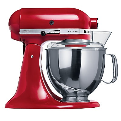 Artisan Kitchen Aid---ok i have it in white but i really wanted red!