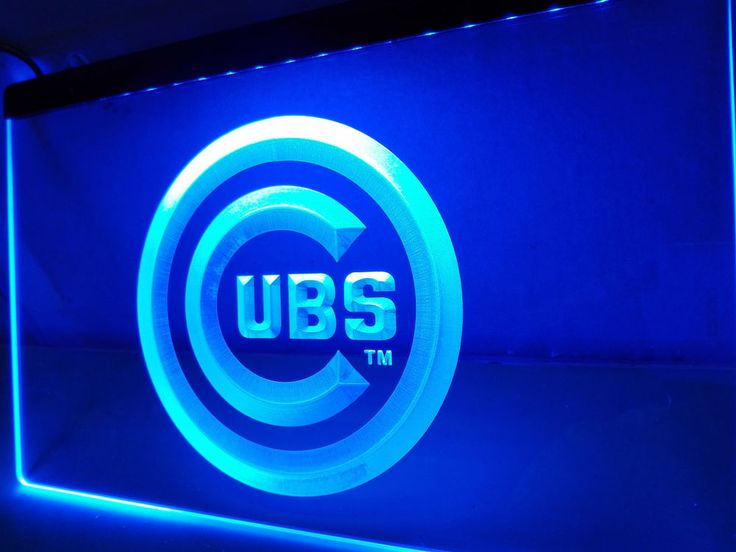 Chicago Cubs LED Neon Light Sign home decor crafts
