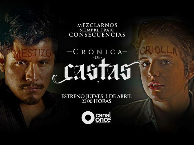 Conoce lo nuevo de Daniel Giménez Cacho quien presenta a través de Canal Once la serie televisiva Crónica de Castas, una mezcla de clases sociales y racismo. http://www.linio.com.mx/libros-y-musica/series-de-tv/