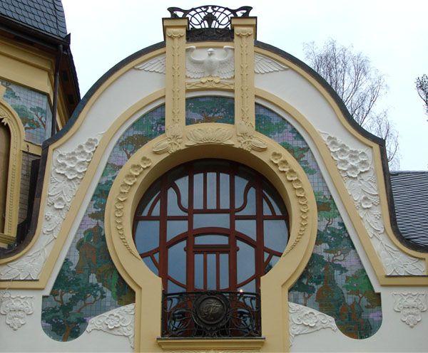 Оформление балкона. Фасадная лепнина