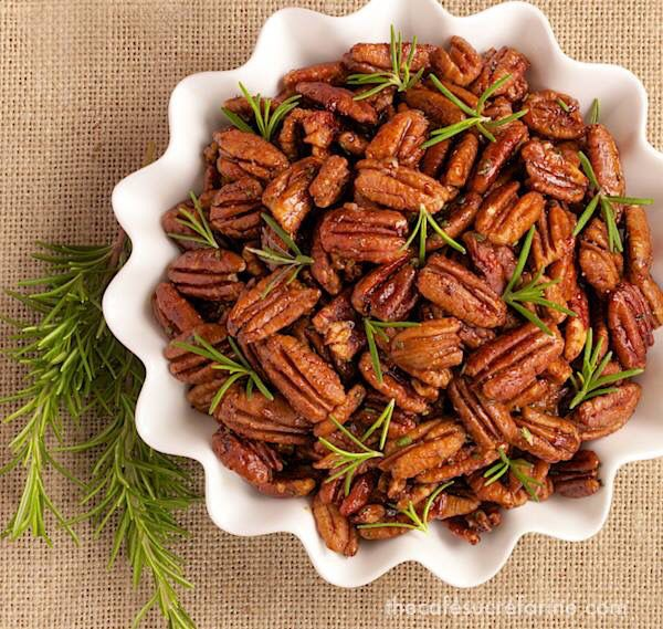 ... Roasted Pecans w/ Fresh Rosemary | Roasted Pecans, Sheet Pan and Honey