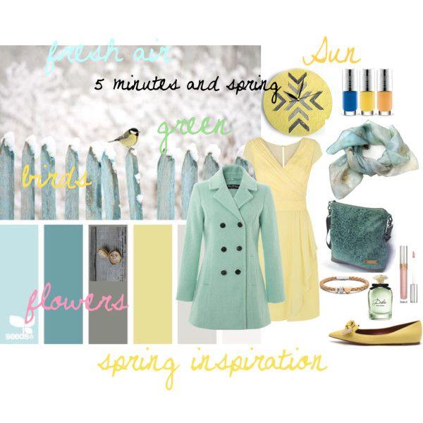 """spring inspiration"" by ildiko-vrabecz on Polyvore"
