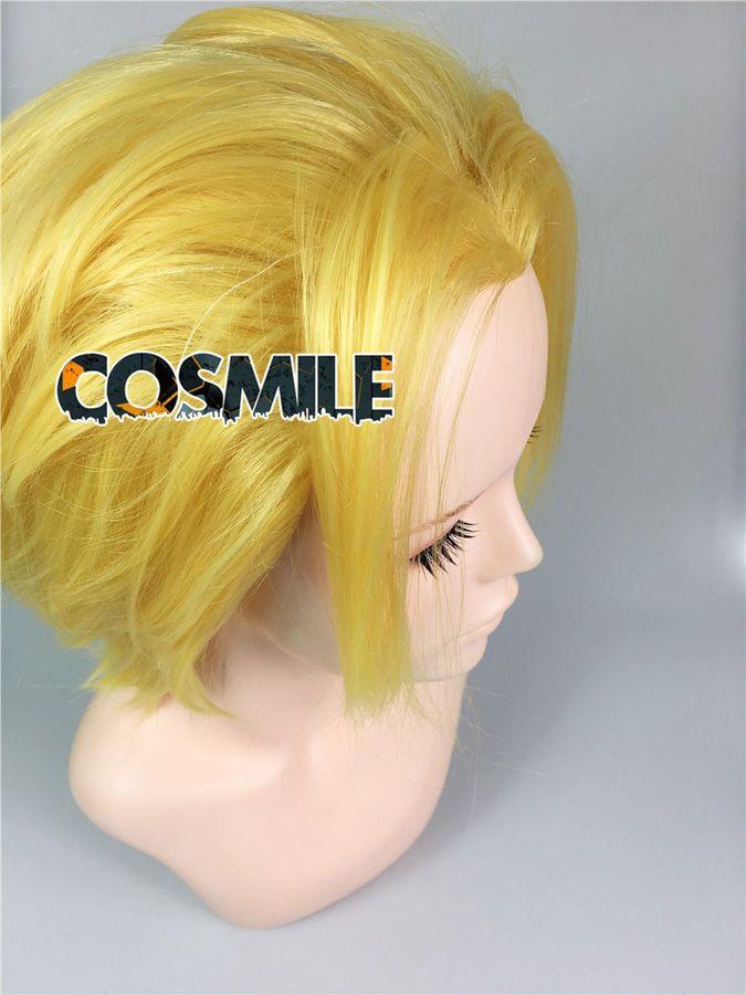 Boku no My Hero Academia All Might Toshinori Yagi Cosplay Hair Wig Fighting Sa