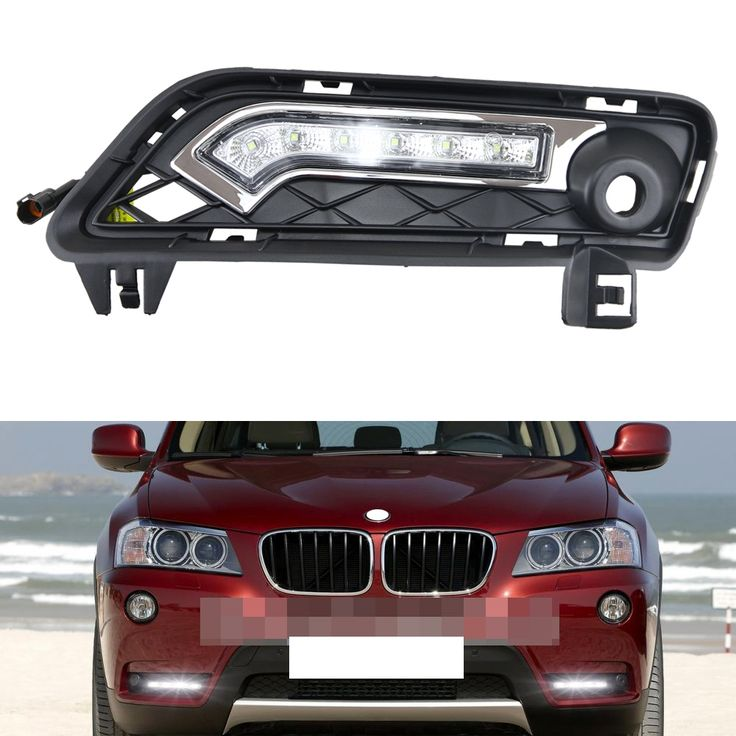 120.00$  Watch here - http://aliole.worldwells.pw/go.php?t=32314801493 - 1 Pair of ABS F25 LED Daytime Running Light LED DRL Lamp for BMW X3 F25 2010- 2014 auto parking light with turn signal lights 120.00$