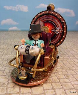 H.G. Well's Time Machine ~ Emma.J's Playmobil