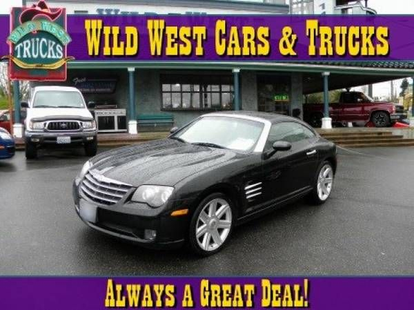 2004 Chrysler Crossfire – Easy Financing Available!