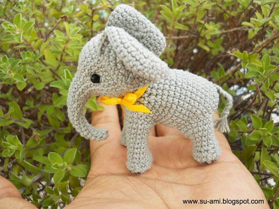 1000+ images about crochet Elephants on Pinterest