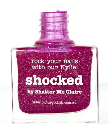 Picture Polish Shocked, Free Shipping at Nail Polish Canada