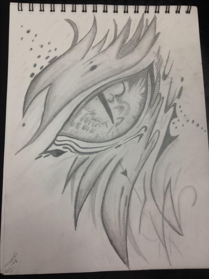 Dragons eye sketch