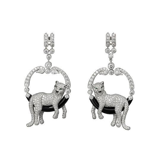Cartier - lol, awesome. Just like the two divas on my bed right now...