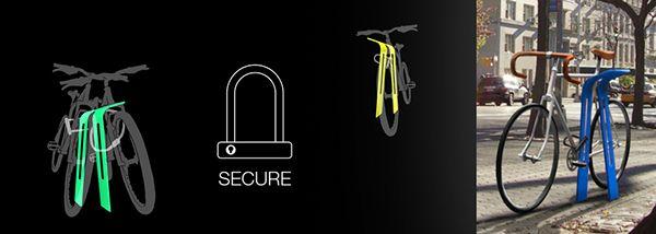 LEAN bike rack on Behance