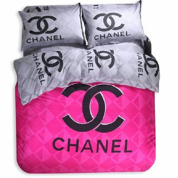Chanel bedding set 4pcs set Other