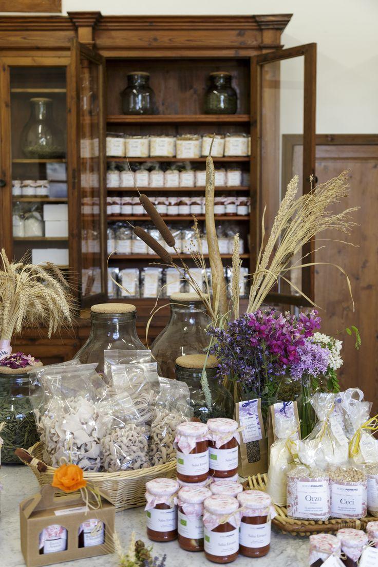 Our products, Borgo Pignano, Volterra, Tuscany, Italy