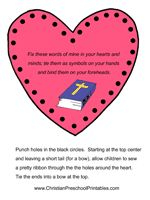 jesus loves me bible lesson valentines day