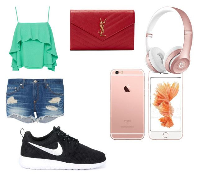 Comfy but casual by akayoc on Polyvore featuring polyvore, fashion, style, Apiece Apart, rag & bone, NIKE, Yves Saint Laurent and clothing