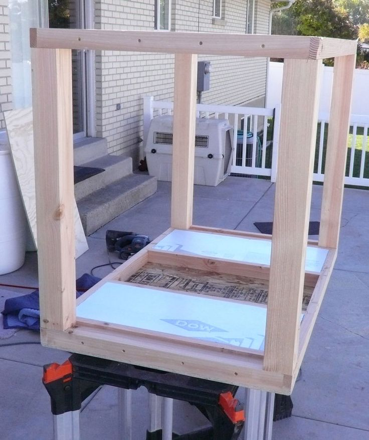 insulated dog house tutorial