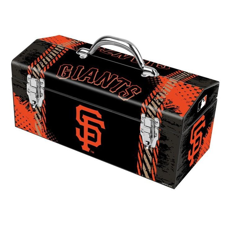 Sainty International 16 in. San Francisco Giants Art Tool Box, Boston Red Sox