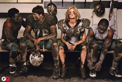 I respect Erin Andrews so much and I love this picture.