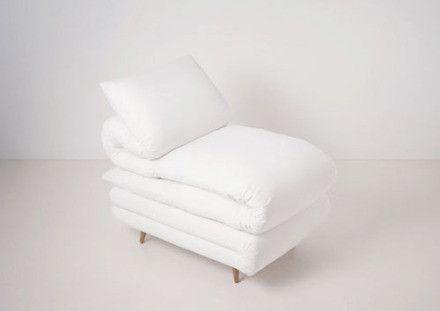 Creative chair design - fotelja iz madraca :)