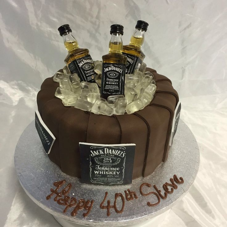 Best 25+ Alcohol Birthday Cake Ideas On Pinterest