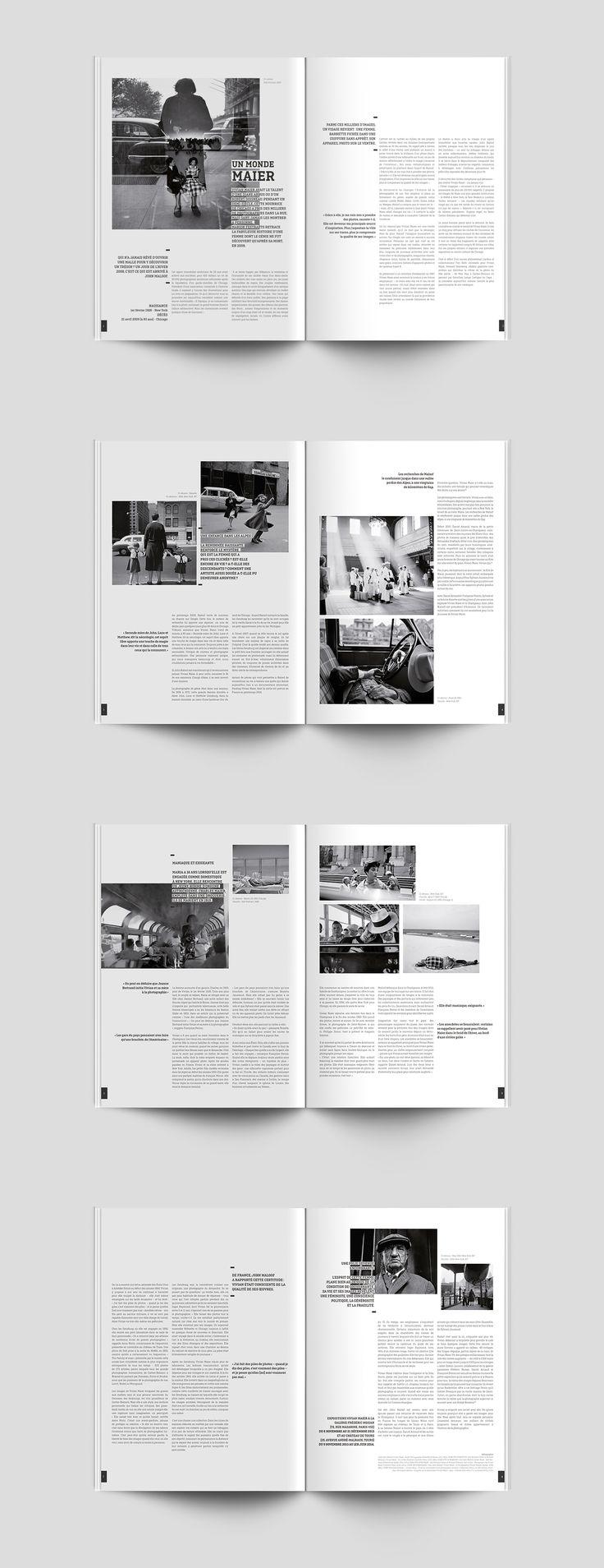 Découvrez mon projet @Behance: «-EDITION-MISE EN PAGE-MAGAZINE-VIVIAN MAIER-» https://www.behance.net/gallery/44328171/-EDITION-MISE-EN-PAGE-MAGAZINE-VIVIAN-MAIER-                                                                                                                                                                                 More