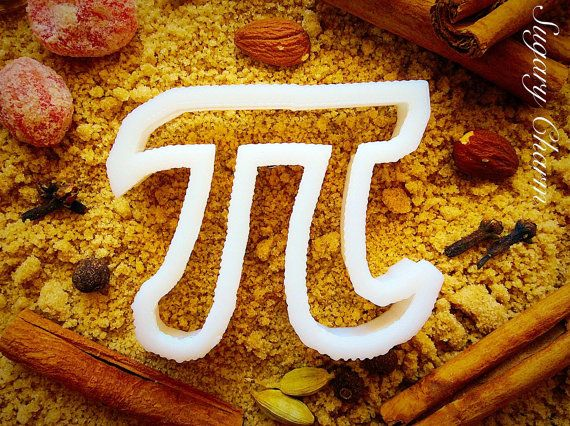 Pi 3.14 cookie cutter by SugaryCharm on Etsy