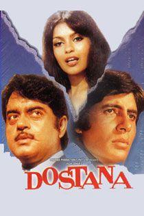 Dostana (1980) Hindi Movie Online in SD - Einthusan Amitabh Bachchan, Shatrughan Sinha, Zeenat Aman, Prem Chopra, Amrish Puri, Helen, Pran and Paintal Directed by Raj Khosla Music by Laxmikant-Pyarelal 1980 [U] ENGLISH SUBTITLE