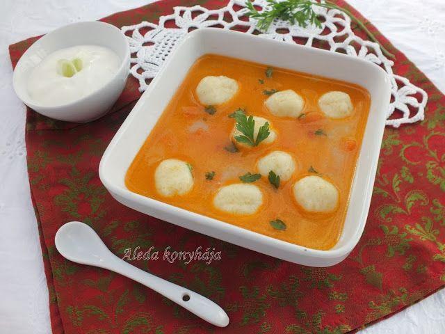 Krumpligombóc leves / Gölödin