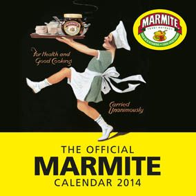 Love it or Hate it??? you got to love the Marmite 2014 calendar cover.