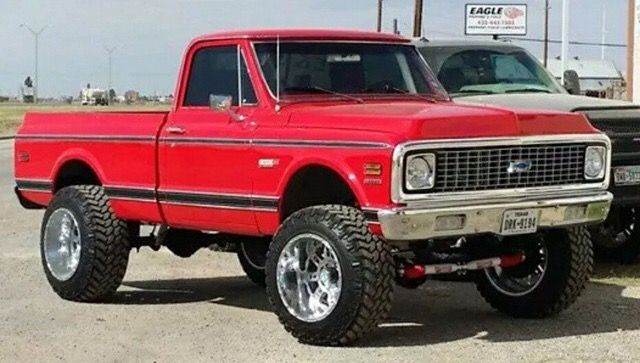 1972 Chevrolet C-10 4×4 Pick-Up Truck