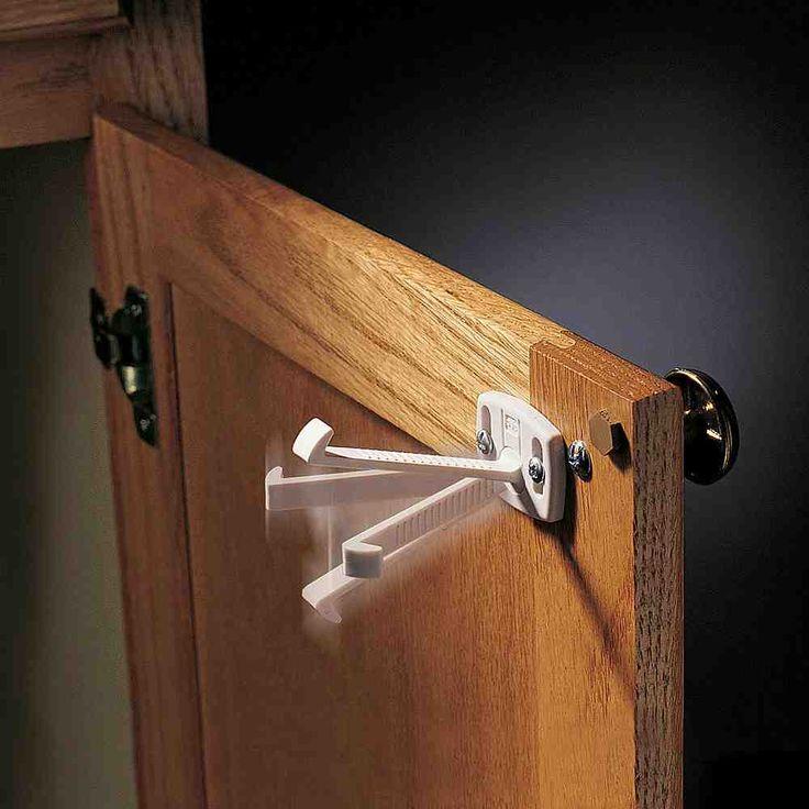 kitchen cabinet locks for dogs plastic shelf lock supports cabinets locking