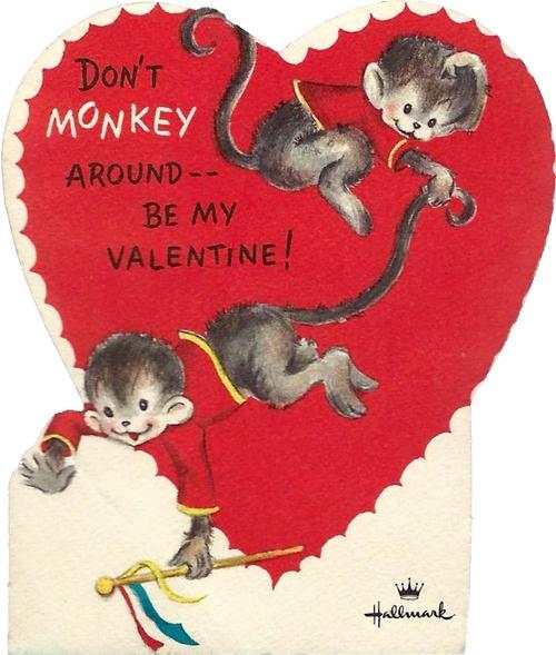 17 Best images about Vintage Victorian Valentines – Monkey Valentine Cards