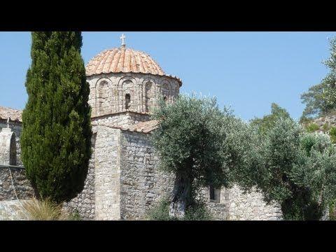 Thari Monastery, South Rhodes - YouTube