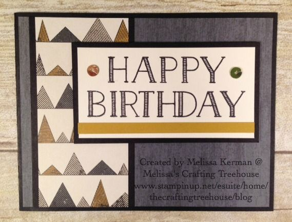 849 best birthday guy card ideas images on pinterest masculine clean and simple masculine birthday card using big on birthdays stamp set by stmapin up bookmarktalkfo Choice Image