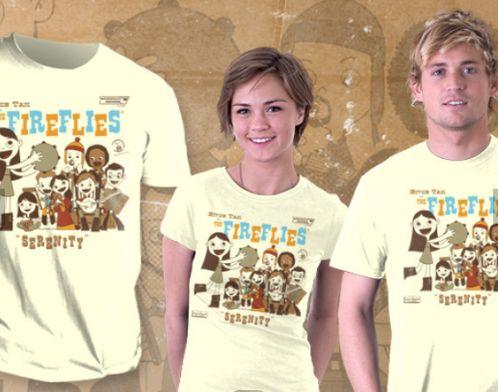 River Tam & The Fireflies Tee #firefly #serenity #shiny #mal #captain #malcolm #reynolds #joss #whedon #josswhedon #whedonverse #tee #shirt #tshirt