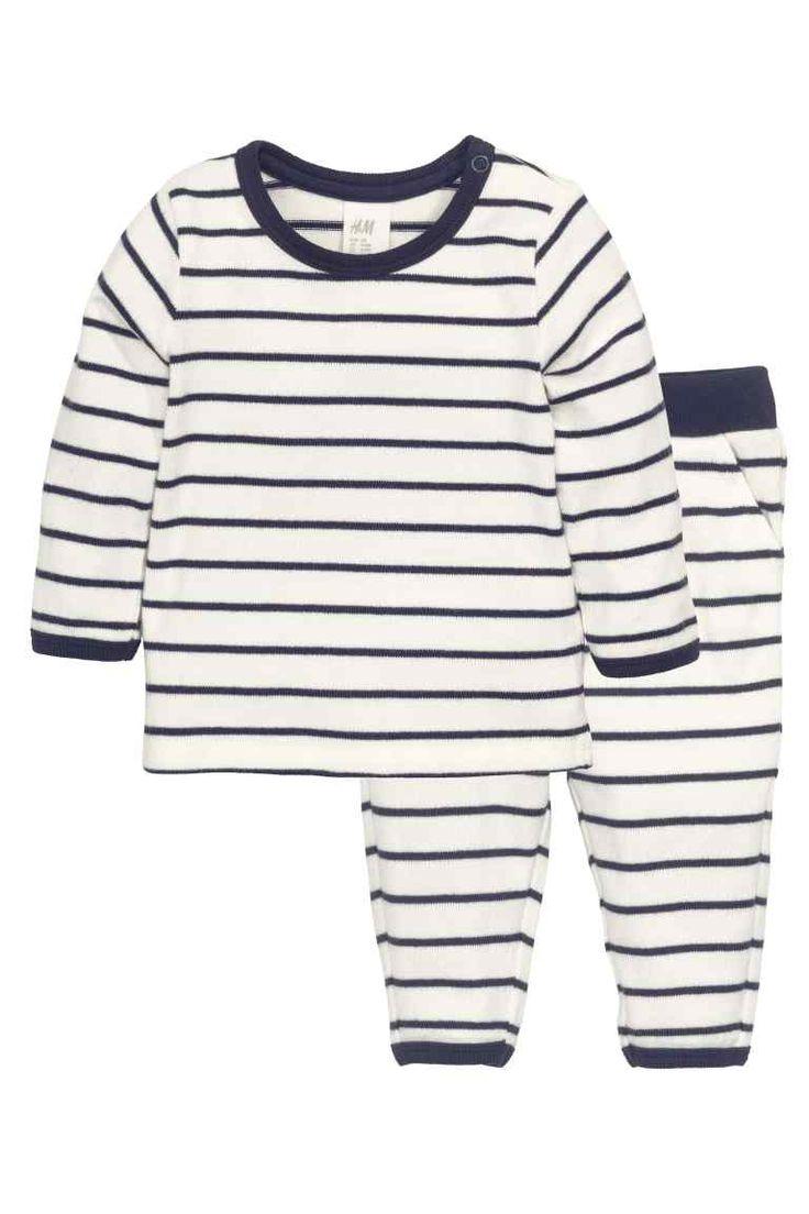 Shirt und Hose in Feinstrick | H&M