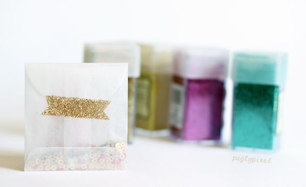 Pugly Pixel's DIY Glitter Tape: Decor Ideas, Glitter Tape, Crafty Things, Gifts Wraps, Diy Gifts, Side Tape, Gifts Diy, Diy Glitter, Glitter Diy