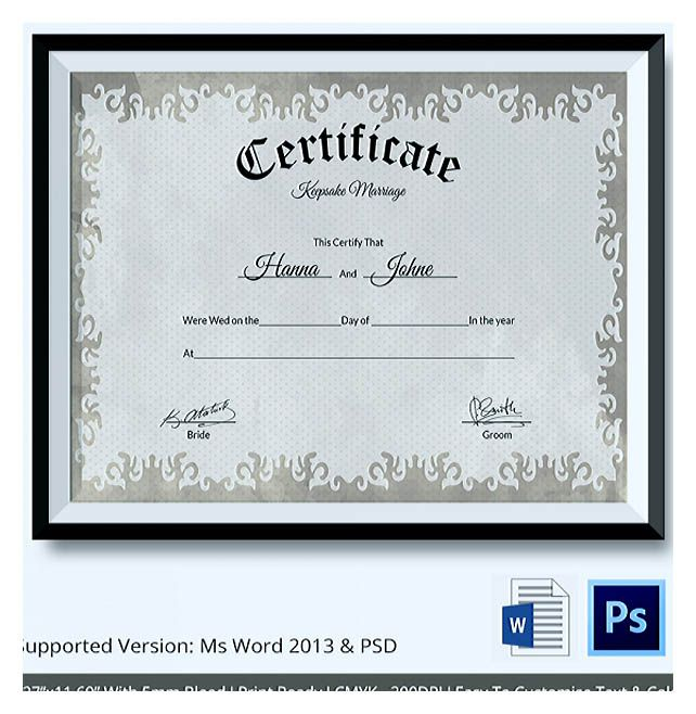 149 best certificate template images on Pinterest Certificate - business gift certificate template free