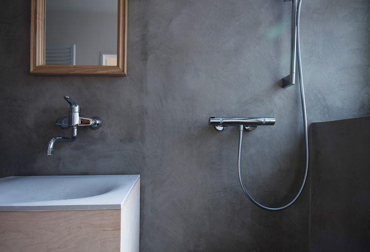 bathroom I concrete sink I betone I betonové umyvadlo I koupelna I design
